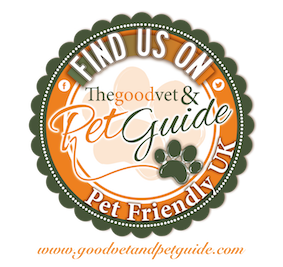 The New Forest Dog Hotel - we're listed in the Good Vet and Pet Guide