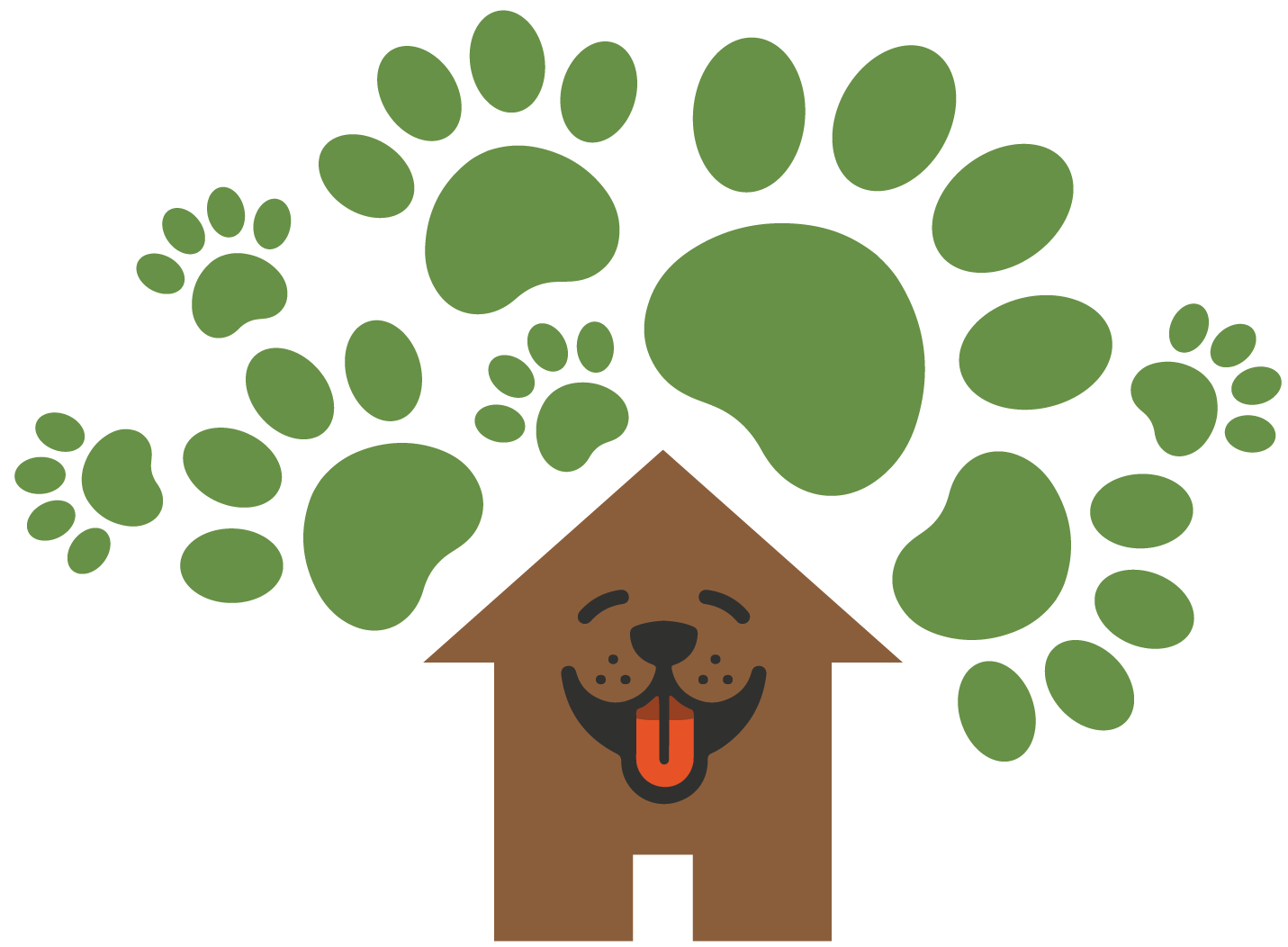 The New Forest Dog Hotel logo